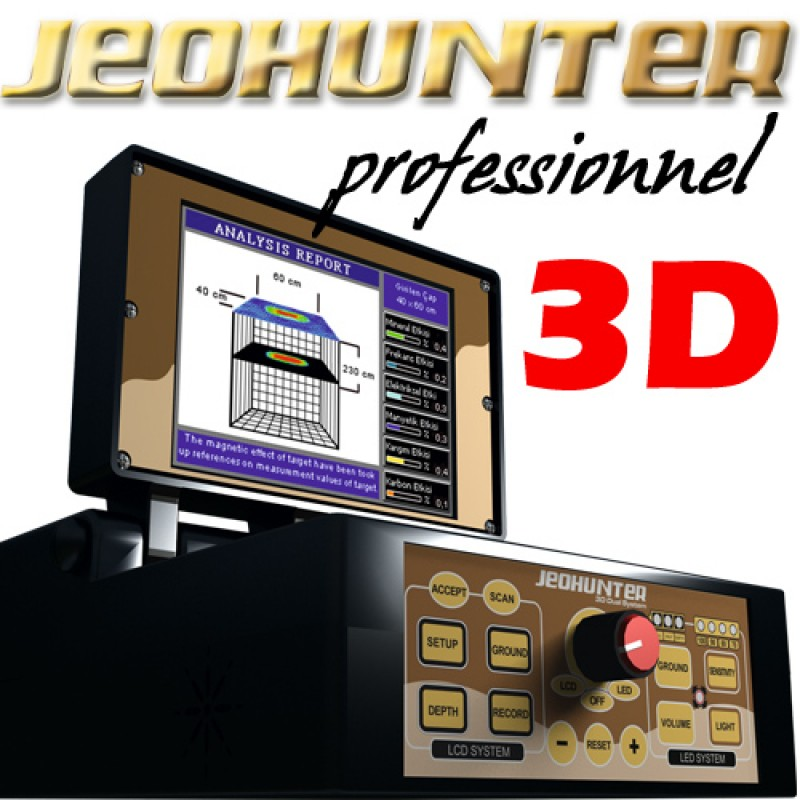 jeohunter pro 3d 2 disques cadre. Black Bedroom Furniture Sets. Home Design Ideas