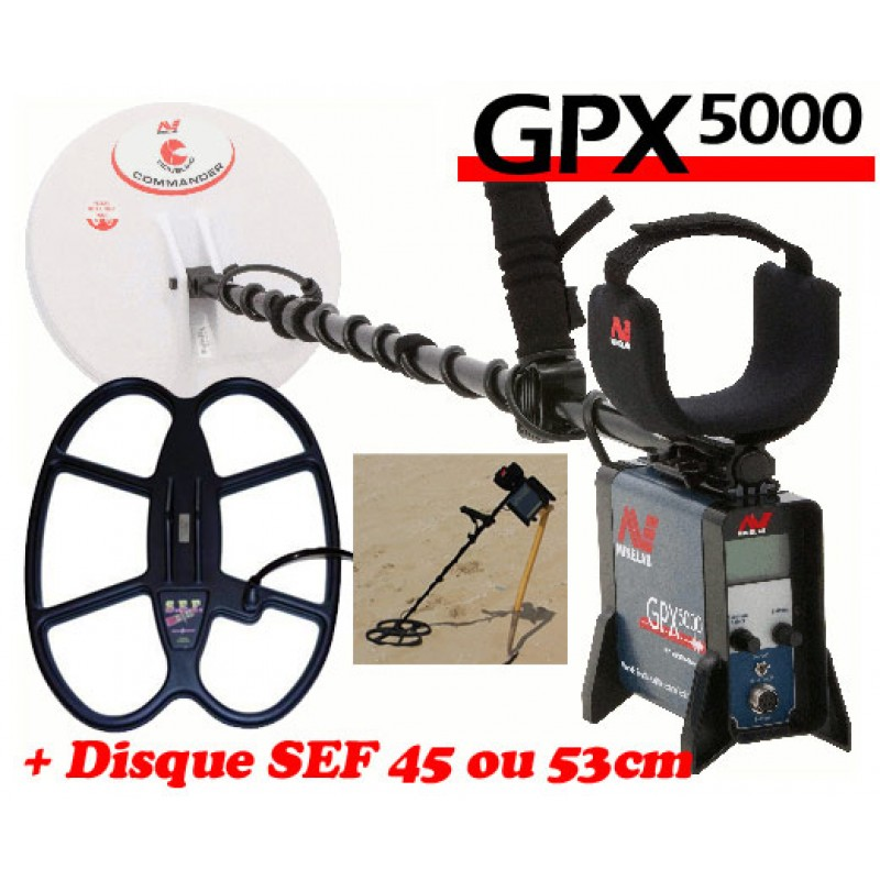 Detecteur d'or gpx 5000