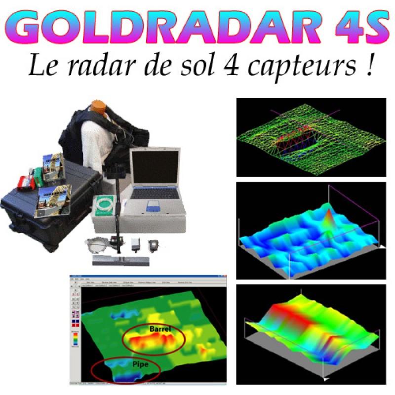 radar de sol goldradar 4s. Black Bedroom Furniture Sets. Home Design Ideas